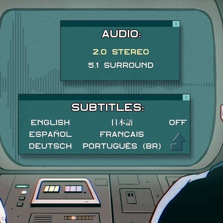 Moleman 4 - Blu-ray menu